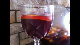 Red Wine Sangria With Rum