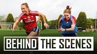 Behind the scenes | Drone special | Arsenal Women training