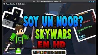 Soy Un Noob?? SkyWars en HD! [] SkyWars []