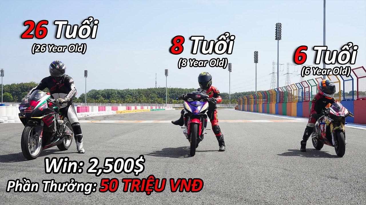 NTN - Thử Thách Đua Xe Với Tay Đua Nhí Và Cái Kết (Racing With Baby 6 Year Old) 4K