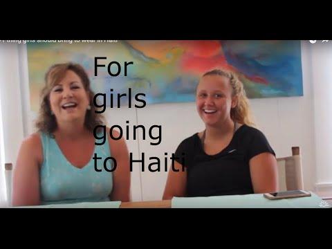 Girls travelling to Haiti or Costa Rica- dress code!