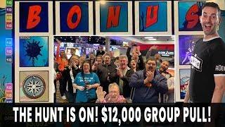 🤑 $12,000 RED SCREENS GROUP PULL 💰 $50/Spin MAX BET BONUS 🔴 Ho-Chunk Gaming Madison 🔱 #ad