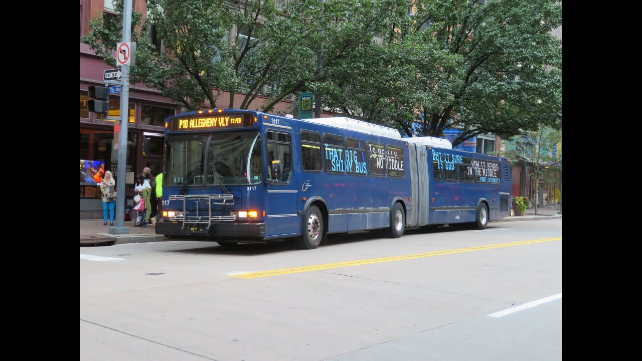 port authority transit (pittsburgh): 2005 neoplan an-460 - artic'd