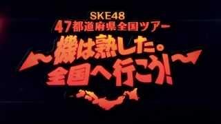 2015年2月1日、チームKⅡ「ラムネの飲み方」公演(昼公演)にて、 「SKE48 47都道府県全国ツアー~機は熟した。全国へ行こう!~」の追加公演のスケ...