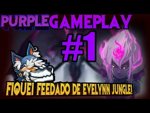 Como tiltar um azir mid! - Gameplay #1 Evelynn jungle S8