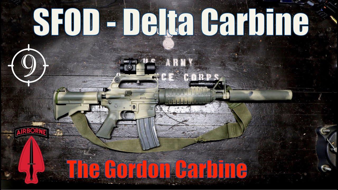 Download Gordon's Carbine [Black Hawk Down] - The Delta Colt 723 - 733 (suppressed)