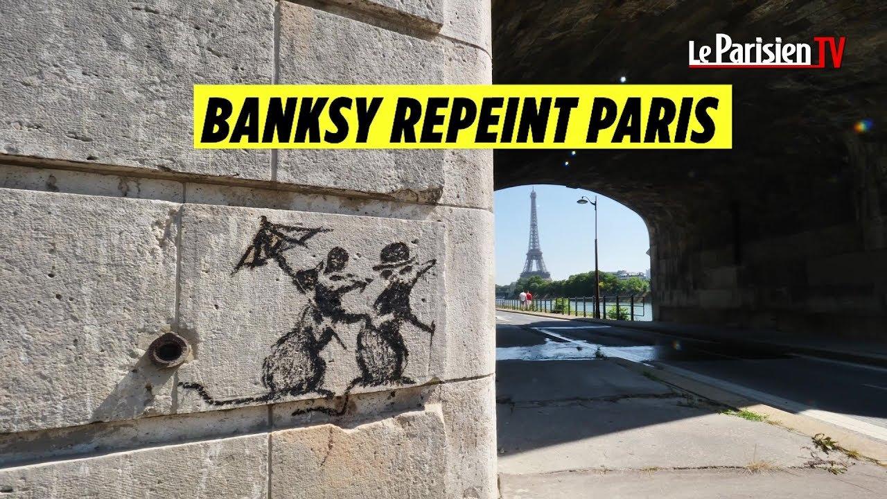 Banksy : où trouver les œuvres du street artist dans Paris ?