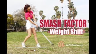 Smash Factor with Flightscope | Golf with Aimee