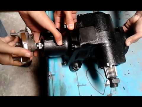 Caja De Direccion Hidraulica De Ford Youtube