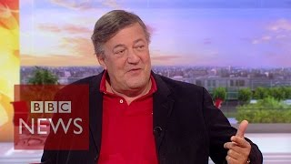 Stephen Fry: Addiction, Al Pacino, Robin Williams & Philip Seymour Hoffman - BBC News