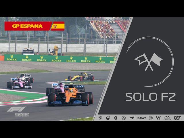 CARRERA COMPLETA - CAMPEONATO SOLOF2 T4 GP ESPAÑA #6