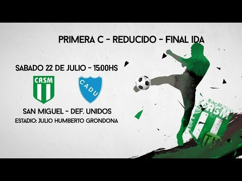 SAN MIGUEL TV - REDUCIDO - FINAL IDA - San Miguel vs Def. Un