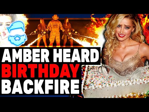 Amber Heard Has MASSIVE Birthday BLUNDER & Has Epic Lawsuit FAIL!
