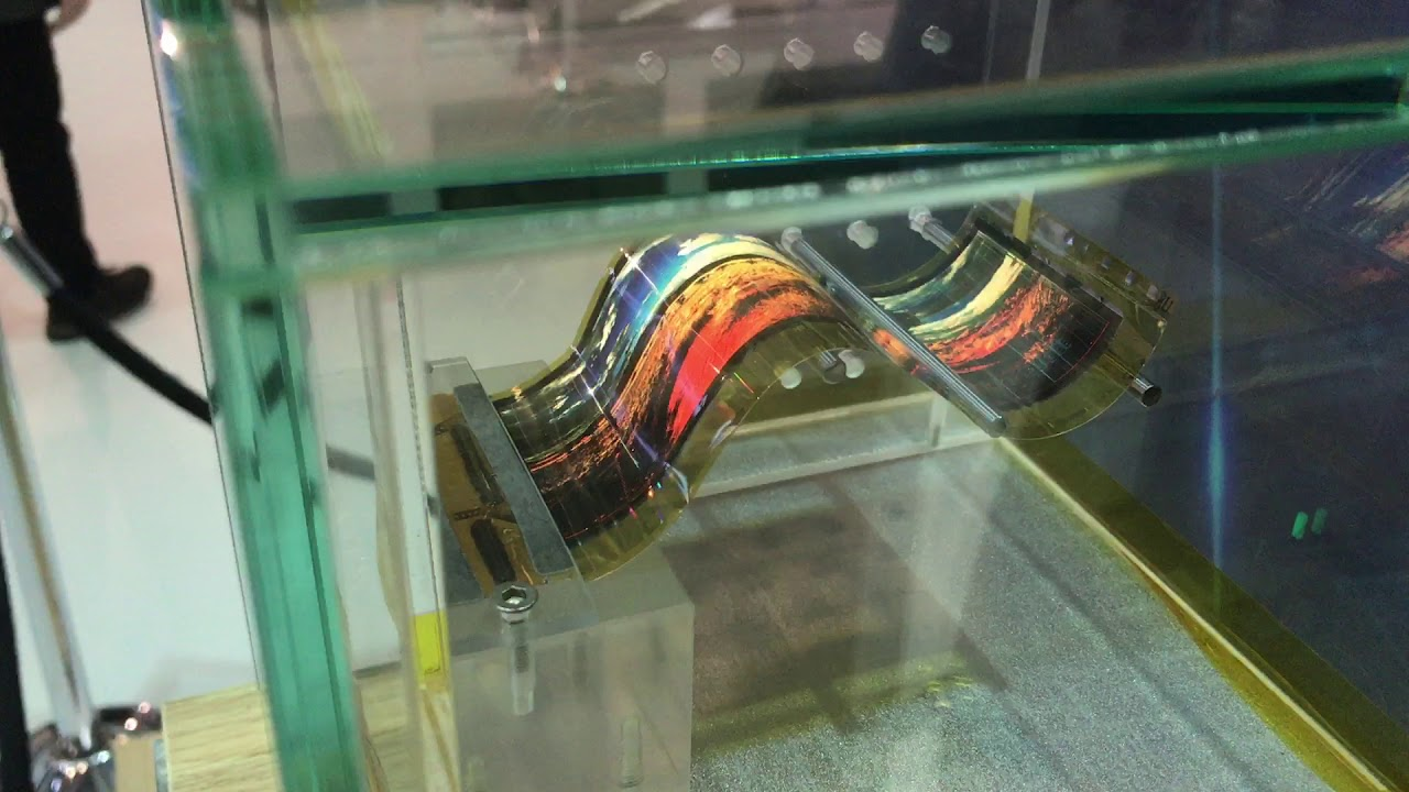 Flexible OLED display from Skyworth