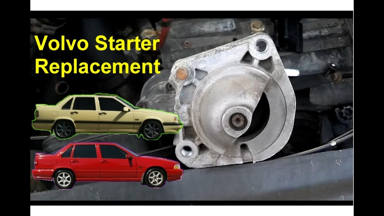 Remote Stop Start Wiring Diagram Microscope Unlabeled How To Replace Your Starter Replacement, Volvo 850, S70, V70, Xc70 - Auto Repair Series Youtube