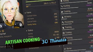 BDO Cooking in 2020 Part 1 - From Beginner 0 To Guru Hero! Mastery, mass cooking, b0 to a2 guide!