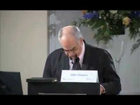 John Vinocur - Keynote on Europe, the Big Absentee p1