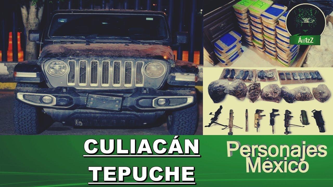 Dos decomisos en Culiacán y en Tepuche