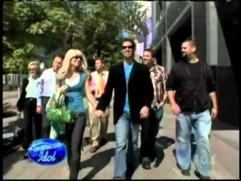 David Osmond on American Idol