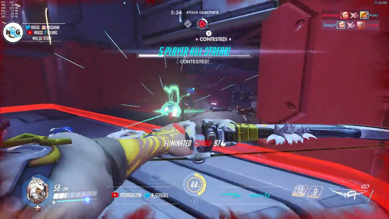Overwatch PTR - Seagull Plays After The Patch - YouTube