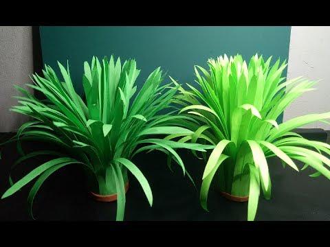 Artificial Grass How to Make Grass using Paper DIY Home Decor Ideas