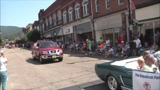 2016 Covington, Virginia Labor Day Parade