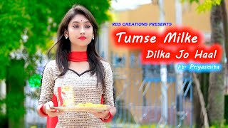 Download lagu Tumse Milke Dilka Jo Haal | Main Hoon Na | Cute love story | Latest Hindi Song | Ft. Priyasmita