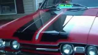 1967 oldsmobile cutlass red