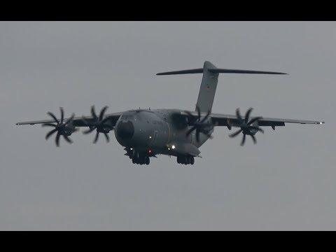 ILA 2018 | Airbus A400M landing for ILA Berlin Air Show 2018