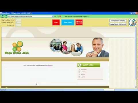 mega online jobs.com   Data entry software for mega online jobs