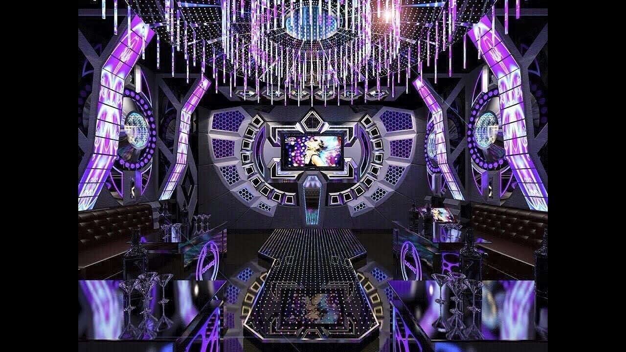 Thiết kế karaoke led 3d , nội thất karaoke vip, mẫu phòng karaoke ...