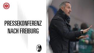 Pressekonferenz nach SGE - Freiburg