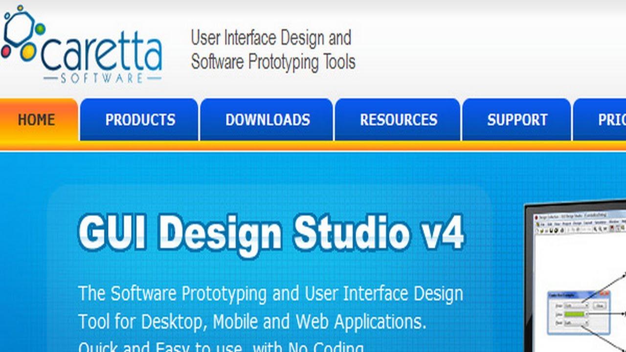 Gui design studio | rapid ui design and software prototyping.