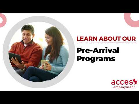 Pre Arrival Programs at ACCES