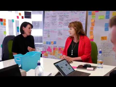 Hon Clare Curran, Service Innovation Lab Visit
