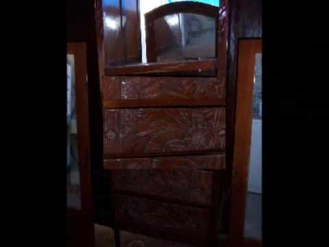 Renovaci n y restauraci n de ropero antiguo youtube - Ropero antiguo ...