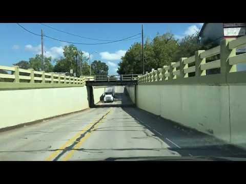 Columbus, Texas - Driving Through The Town