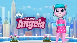My Talking Angela Great Makeover  Episode Full Game for Children HD