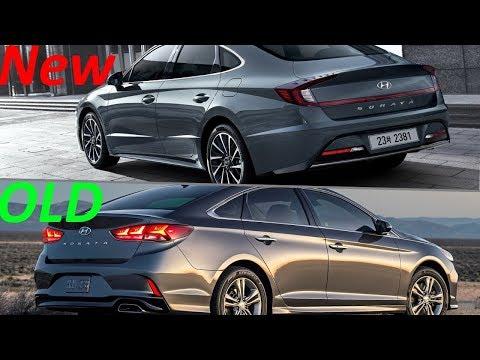 New 2020 Hyundai Sonata Vs. Old  2018 Hyundai Sonata