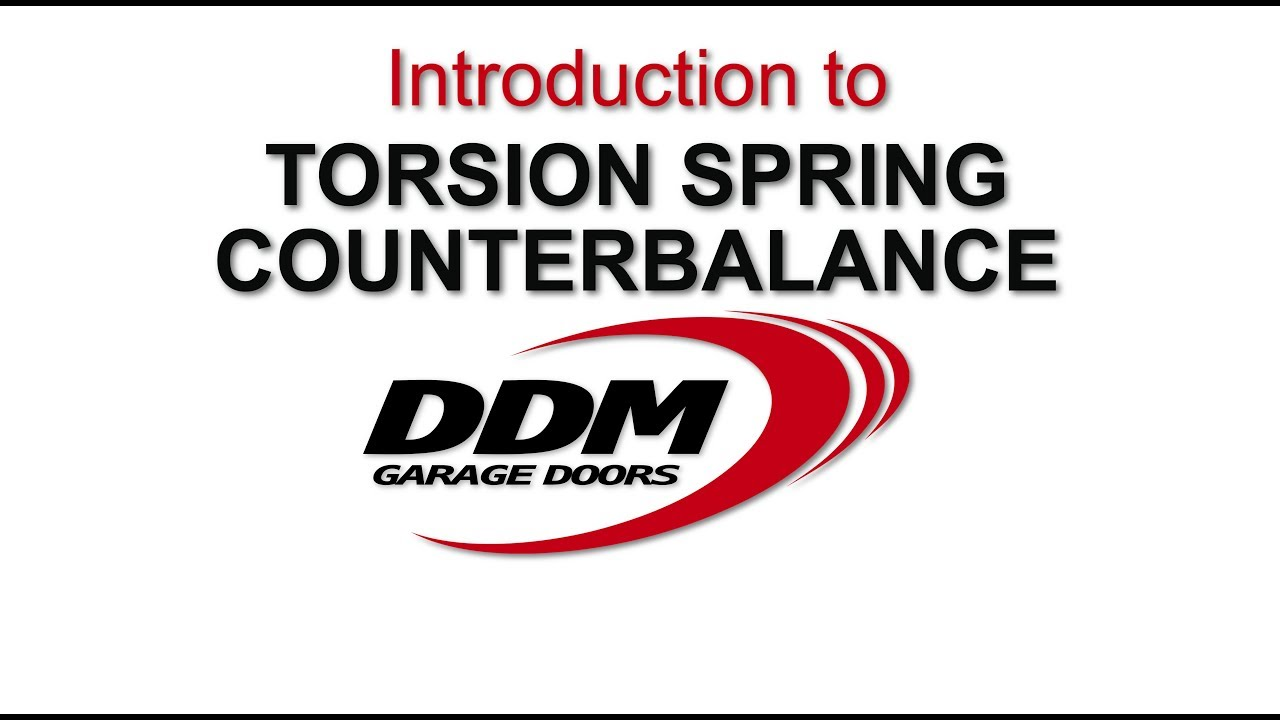 Introduction to Torsion Spring Counterbalance