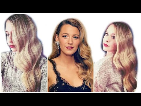 Blake Lively Inspired Hair Tutorial Big Waves