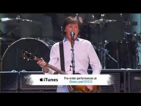 Paul McCartney Helter Skelter 12.12.12. Sandy relief concert HD