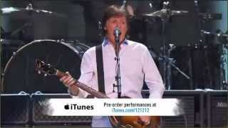 Paul McCartney Helter Skelter 12.12.12. Sandy relief concert HD
