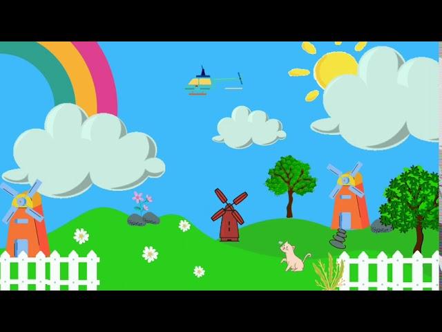 Background Animasi Kartun Bergerak #bacgroundpembelajaran - YouTube