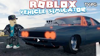 1970 DODGE CHARGER FAST & FURIOUS MUSCLE CAR! | Roblox Vehicle Simulator