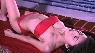 Mao Miyaji 宮地真緒 2 - Red Tube Top Bikini