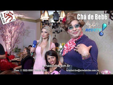 REDE TV – Programa Sensacional com Telegrama Animado com SUPER MAMMY - (11) 3222-5550 / 98875-7030