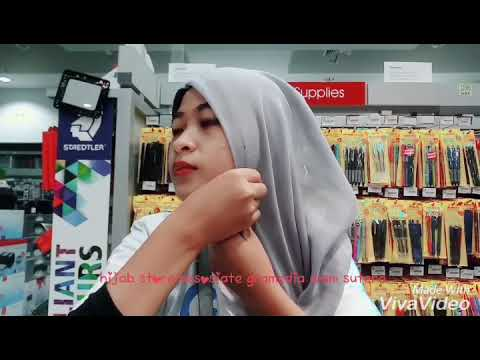 Tutorial Hijab Store Gramedia Alam Sutera Youtube