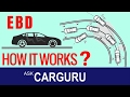 EBD Electronic brakeforce Distribution, क्या है?, ask CARGURU