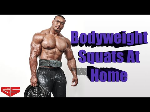 how to perform body weight squats larry wheels workouts at